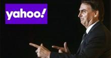 O erro grotesco do site Yahoo! e a resposta acachapante de Bolsonaro