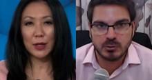 """Constantino dá aula magistral sobre aborto e deixa """"japonesa"""" de boca aberta (veja o vídeo)"""