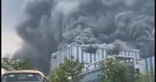 O estranho incêndio na 'base de pesquisas' da Huawei na China (veja o vídeo)