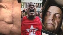"""Bolsonaro e o povo contra as facadas, os """"vermelhos"""" e os desejos funestos de jornalistas militantes"""
