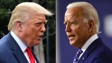"""Trump quer """"teste de drogas"""", antes ou depois do debate, para Joe Biden, e também se submete a fazê-lo"""
