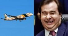 A farra do presidente da Câmara com os aviões da FAB continua