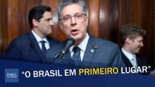 """""""O Brasil em primeiro lugar na retomada do crescimento econômico"""", comemora deputado (veja o vídeo)"""