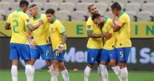 O 'Show' da Seleção Brasileira diante da Bolívia (veja o vídeo)