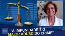 """Destemida, promotora abre o jogo: """"A impunidade é, sem dúvida, o maior adubo do crime"""" (veja o vídeo)"""