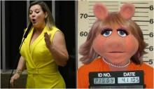 E agora, Miss Pig? Joice Hasselmann mais enrolada do que nunca
