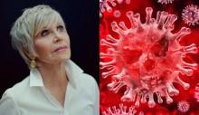 """Jane Fonda diz que vírus chinês é """"presente de Deus para a esquerda"""""""