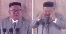 Em gesto raro de emoção, Kim Jong-un chora e admite que fracassou com a Coréia do Norte (veja o vídeo)
