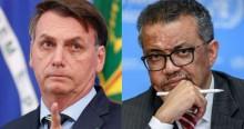 """Bolsonaro sobre o trabalho da OMS: """"Tá 7 x 0 pra mim. Não perdi nenhuma!"""" (veja o vídeo)"""