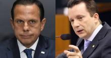 """Russomanno manda recado a Doria sobre vacina chinesa: """"O paulistano não é cobaia"""""""