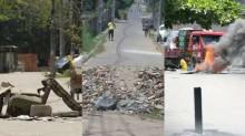 Pneus, vergalhões, entulho e o STF: As muitas barricadas que protegem o crime no Rio de Janeiro