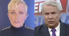 Após ser 'trucidada' por Sikêra Jr., Xuxa dá chiliques e promete processar o apresentador (veja o vídeo)