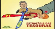 """A trapaça da esquerda com a """"estratégia das tesouras"""""""
