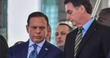 """Bolsonaro não perdoa Doria após Anvisa suspender testes da vacina chinesa: """"Mais uma que Jair ganha"""""""