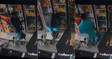 Policial reage a assalto, surpreende bandido e salva vidas dentro de mercado (veja o vídeo)