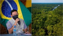 Amazônia na vitrine: Mourão viaja com ministros e embaixadores pela região
