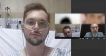 Advogado, internado com suspeita de Covid, é 'obrigado' a participar de audiência virtual
