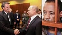 Bolsonaro esbanja prestígio internacional e acerta com Putin a liberdade para o motorista Robson