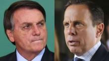 """Bolsonaro desmente Dória e manda recado: """"Governadorzinho! 'Santo' da calça apertada""""(veja o vídeo)"""