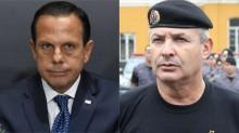 """Coronel perde a paciência com Doria e detona: """"Sacana! Covarde!"""" (veja o vídeo)"""