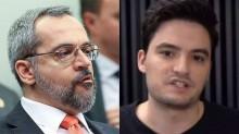 """Felipe Neto faz """"apologia ao crime"""" e toma invertida avassaladora de Weintraub"""