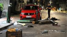 """Eficiente, PRF age e prende 5 suspeitos de envolvimento no """"terror em Criciúma"""""""