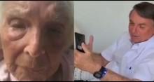 Depois de 56 anos, Bolsonaro tem encontro emocionante com professora da infância (veja o vídeo)