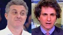 O que acontece quando o desconectado Huck se junta com Guga Chacra, o 'comentarista' da Globo...