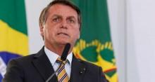 """Firme, Bolsonaro declara: """"Liberdade não tem preço, ela vale mais que a nossa própria vida"""""""