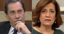 Crise atinge em cheio Miriam e Merval: O Globo reduz o salário dos colunistas