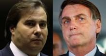 """Bolsonaro escancara incompetência de Maia: """"Deixou caducar a MP do 13º do Bolsa Família"""""""