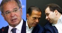"""Guedes faz revelação surpreendente: """"Trama"""" de Maia e Doria para derrubar Bolsonaro"""