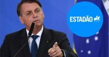 Com apenas uma palavra, Bolsonaro acaba com ataque do Estadão