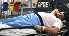 """Especialista pede revisão no laudo de Eustáquio, pois """"há hipótese de fratura e lesão medular"""""""