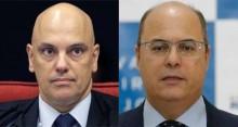 Moraes suspende depoimento de Witzel em processo de impeachment