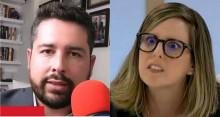 Colunista da Folha ataca Bolsonaro e leva resposta desmoralizante de Paulo Figueiredo (veja o vídeo)