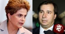 Para afagar e iludir o PT, Maia e Baleia Rossi saem em defesa de Dilma (veja o vídeo)