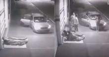 Família para o carro, assusta moradores de rua, mas o final é emocionante (veja o vídeo)