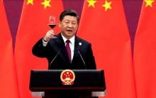 Xi Jinping celebra o novo ano: Deu tudo certo para a China...