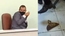 Prefeito é atacado com enxada em cerimônia de posse (veja o vídeo)