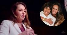 Ana Paula Henkel faz depoimento emocionante sobre o aborto que decidiu não realizar (veja o vídeo)