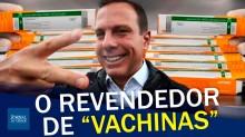 """Doria está apavorado com o """"fracasso"""" da vacina chinesa? (veja o vídeo)"""