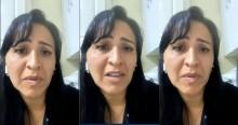 """Esposa de Oswaldo Eustáquio se emociona: """"É um absurdo o que a gente está vivendo, tem dias que não consigo nem dormir"""" (veja o vídeo)"""