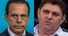 """Humorista perde a paciência com Doria e viraliza: """"Governadorzinho de b..."""" (veja o vídeo)"""