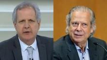 """Augusto Nunes """"solta o verbo"""" e diz: """"Dirceu nasceu com vocação para farsante"""" (veja o vídeo)"""