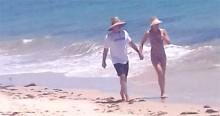 """""""Fique em casa"""" para você e Caribe para mim: Huck sai em férias com a família (veja o vídeo)"""