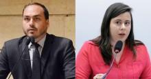 """Deputada do PSOL enoja com o inescrupuloso oportunismo, mas é calada por """"Carluxo"""""""