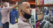 """Prefeito surpreende 'fiscais de Doria' fechando comércio, desabafa e manda recado: """"Aqui tem prefeito"""" (veja o vídeo)"""