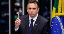 """""""Quando a política entra pela porta do tribunal, a justiça foge pela janela"""", Rodrigo Pacheco"""