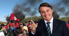 """Direto do Maranhão, Bolsonaro ironiza: """"Alguém tem notícia de invasões do MST?"""""""